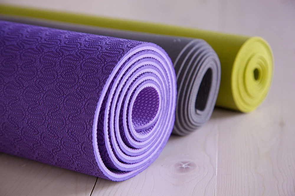 Buy a yoga or exercise mat - Tips on Staying Healthy While At Home - Carousell Philippines Blog