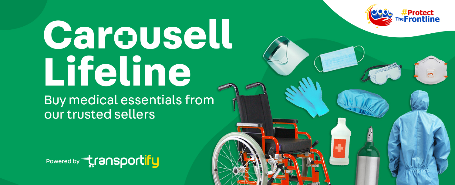Carousell Lifeline, in partnership with ProtectTheFrontline and Transportify