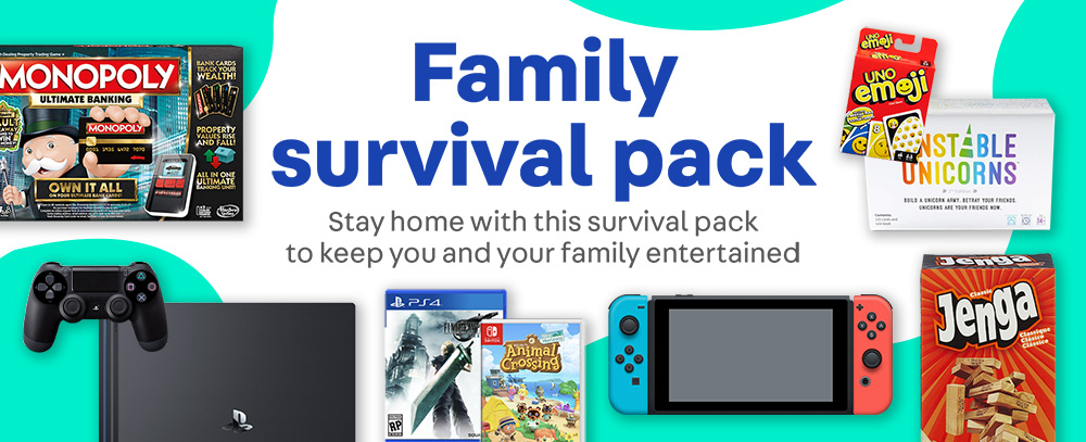 Family survival pack - gaming consoles, games and more on Carousell Philippines