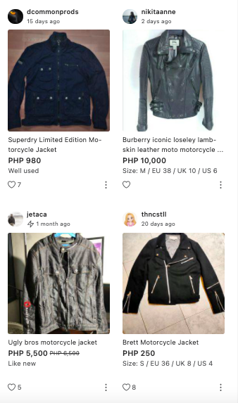 Buy quality motorcycle jackets on Carousell
